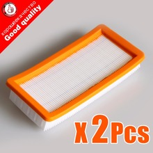 2pcs/lot Good quality karcher filter for DS5500,DS6000,DS5600,DS5800 robot vacuum cleaner Parts Karcher 6.414-631.0 hepa filters(China)