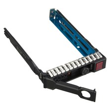 "ELE 2.5"" Hard Drive Tray Caddy Sled Proliant For HP 651687-001 Gen8 G8 DL380 ML310e SL250s(China)"