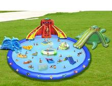 Customizable PVC toys Inflatable Pool portable swimming pool for home use or outdoor ground