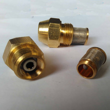 "(10pcs/lot)9/16"" Oil Nozzle for waste oil burner ,brass oil mist nozzle,Oil Atomizer Nozzle"