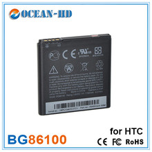 2pcs Cell Phone Batteries BG86100 For HTC G14 Z710E Z710T EVO3D X515M X315D Z715E Sensation XE G18 X315E X310E Sensation XL