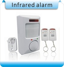 2 remote control infrared alarm /home alarm /remote burglar alarm infrared electronic dog new special(China)