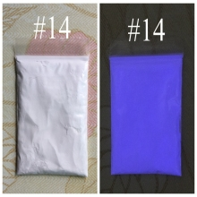 14 colors for choose,Luminescent powder phosphor powder for DIY Paint 10g/bag,nail polish glow powder,glow in the dark powder