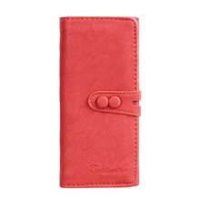 Multi-color Optional Women Wallet PU Leather Famous Brand Casual Women's Long Wallets Card Holder Bags Luxury Purse Blosa