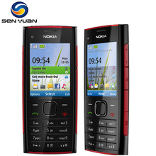 Original Nokia X2-00 unlocked mobile phone 5.0MP Camera Bluetooth FM MP3 MP4 player x2 cheap cell phone