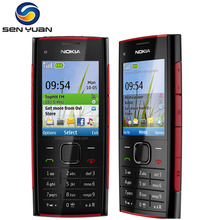 Original Nokia X2-00 unlocked mobile phone 5.0MP Camera Bluetooth FM MP3 MP4 player x2 cheap cell phone(China)