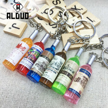 ALANGDUO 2PCS Jumbo kawaii winebottle Peach Pendant Phone Straps Charms Queeze Cute squishies Bread Free Shipping(China)