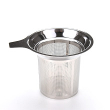 New Mesh Tea Infuser Reusable Strainer Loose Tea Leaf Spice Filter Stainless Steel