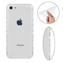 Big discount TPU phone Case for Apple iphone 5C Slim Flexible Soft  Shell Protection clear Cover  case for iphone 5C