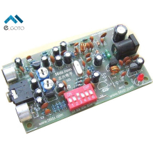 DIY Kits BH1417F FM Radio Stereo Transmitter Board Frequency Modulation Transmission Module Suite Electronic Trainning
