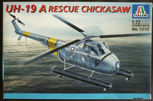 Out of print product! Italeri model 1215 1/72 Sikorsky UH-19A USAF Rescue Plastic Model Kit