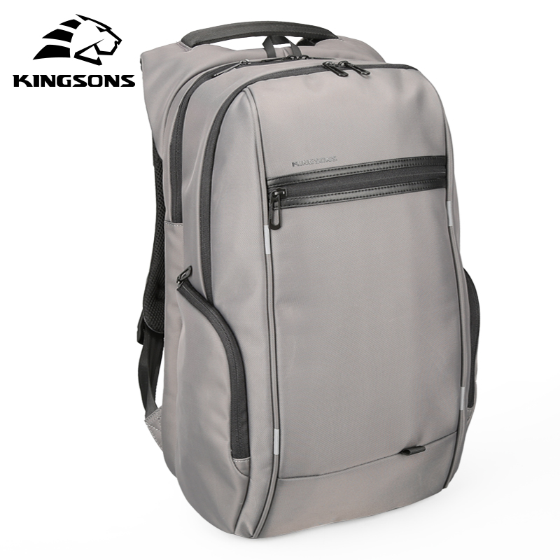 Kingsons Multifunction USB Charging Men 15 17 inch Laptop Backpacks For Teenager Fashion Male Mochila Travel backpack Anti-theft<br>