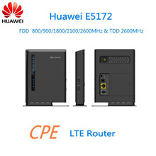 Huawei E5172 4G LTE CPE Industrial Wifi Router with SIM Card Slot