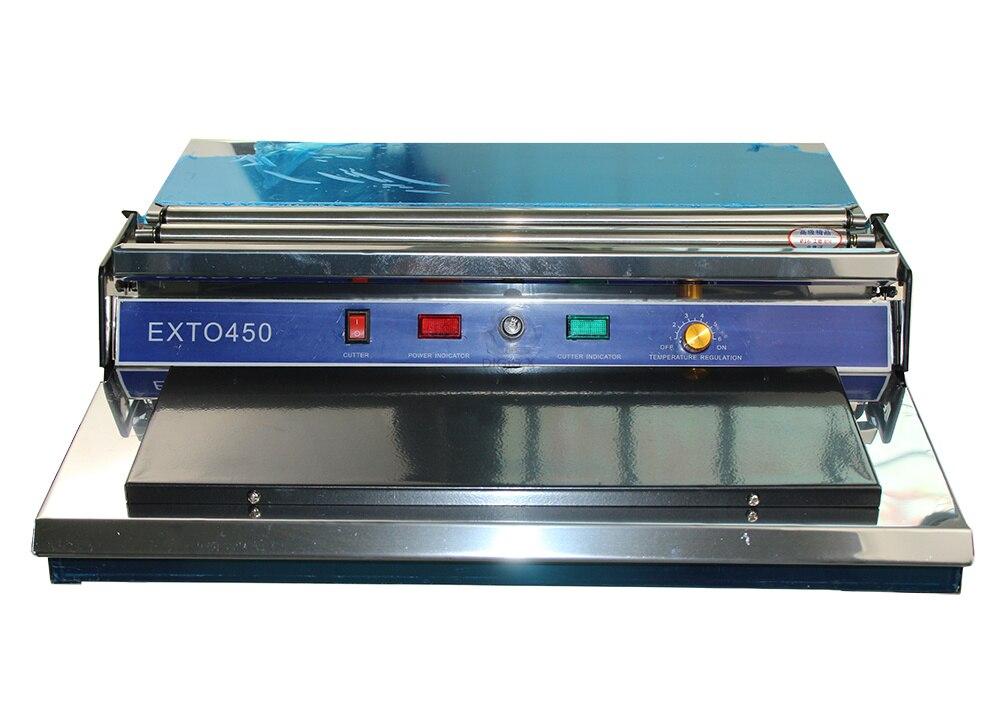 специальное предложение HW-450 печатает пластмассовую пленку, запечатывающую машинную герметизирующую машину для пунктов погрузки пластмассовой пленки