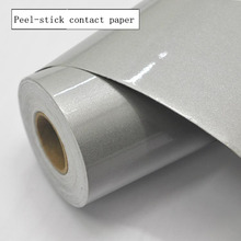Solid color Pearl Contact Paper Film, Vinyl Self Adhesive waterproof Peel-stick Counter Top .for Kitchen, bathroom