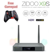 Buy Zidoo X9S Android 6.0 Tv Box 2G 16G OpenWRT dual system Media Player RTD1295 Quad-Core Dual Wifi 802.11 ac ott tv box for $149.00 in AliExpress store