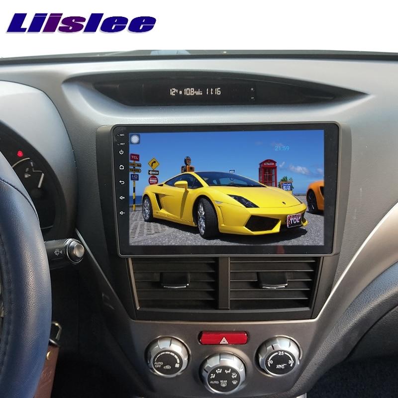 For Subaru Impreza Outback Sport B3 GE GV GH GR RX WRX 2007~2014 LiisLee Car Multimedia GPS Audio Radio Stereo Navigation NAVI 6