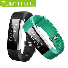 Torntisc ID115HR PLUS Smart Wristband Sports Heart Rate Smart Band Fitness Tracker Smart Bracelet Smart Watch for IOS Android(China)