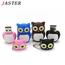 JASTER Cute Owl USB 2.0 Flash Drives External Storage Pendrive 64GB 32GB 16GB 8GB 4GB 2GB Cartoon Usb Flash Disk best Gift