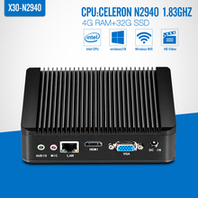 Mini PC celeron N2930 N2940 J1900 With Power Adapter, DDR3 4G RAM ,Laptop Computer, Laptop Windows 7 /8 /8.1/Linux System