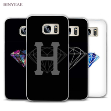 BINYEAE nebula diamond supply co Clear Phone Case Cover for Samsung Galaxy Note 2 3 4 5 7 S3 S4 S5 Mini S6 S7 S8 Edge Plus(China)