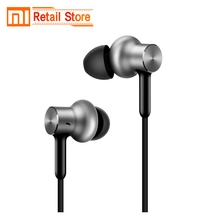 Original Xiaomi Hybrid Pro HD In-Ear Earphone Line Control Music Xiaomi Earphones With Micrphone For Xiaomi Mi5 Mix redmi 4 pro(China)
