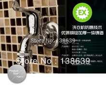 polished copper bibcock,wall mouned faucet used on washing machine,single handle single hole cold faucet Free shipping