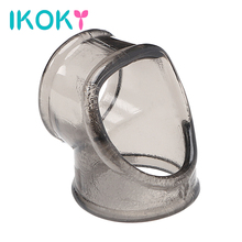 Buy IKOKY Erotic Toys Delay Ejaculation Penis Ring Scrotal Binding Ring Chastity Cage Penis Sleeve Cock Ring Sex Toys Men Male
