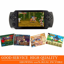 4.3 Inch 1080P HDMI Handheld Game Player 8G LCD Touch Screen MP4 MP5 Players With 9000 Games For PSP Games Console Accessories