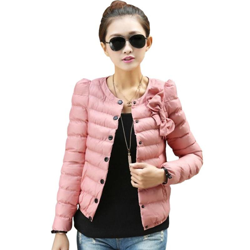 2017 Autumn Winter Clothes New Arrival Women Short Paragraph Slim Down Thick Padded Cotton Jacket Female Sweet Bow Warm ParkaОдежда и ак�е��уары<br><br><br>Aliexpress