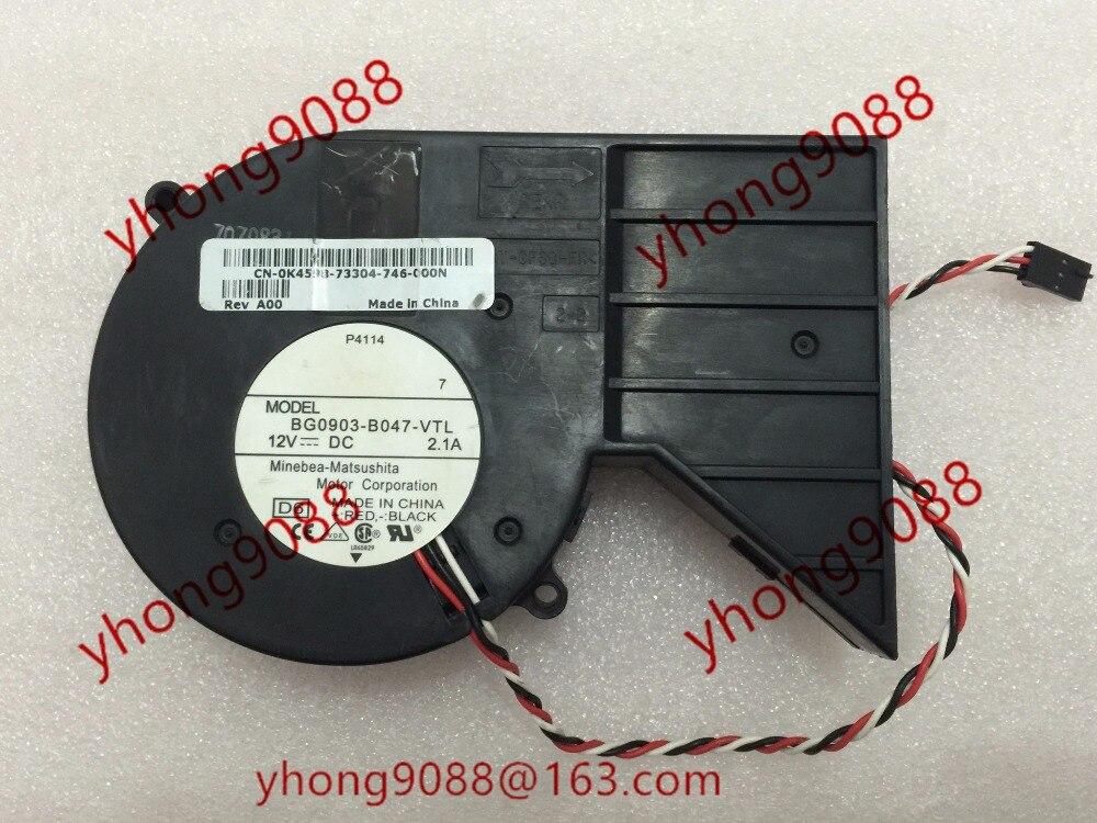 NMB-MAT BG0903-B047-VTL, DC 12V 2.1A    150mm Server Blower  fan<br>