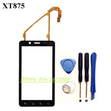 4.3''Black Front Outer Glass Touch Panel Digitizer Screen For Motorola Droid Bionic XT875 W/Tools