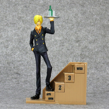 One Piece Sanji Action Figure New World Eternal Calendar Ver. Sanji Doll PVC figure Toy Brinquedos Anime 22CM
