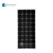 China Manufacturer Singfo Solar Panel Kit 100W Monocrystalline Cell 100 Watts 12V Portable Solar Charger Photovoltaic PV Module