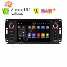XTRONS 6.2 inch Android 5.1 Car DVD Player Radio GPS for JEEP Patriot Liberty Wrangler Compass/DODGE Caliber/CHRYSLER Sebring
