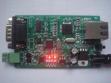TCP/IPRJ45RS232 two-way Ethernet is transferred to the ARM industrial-level serial port server(China)