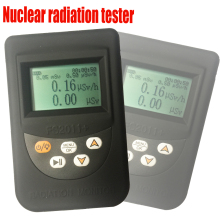 Nuclear radiation tester with Japanese / English Version System ,Personal dosimeter radiation alarm