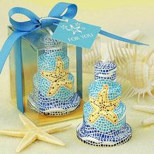 Romantic starfish cake smookless candle baby shower baptism birthday party favor children gift present wedding bridal shower