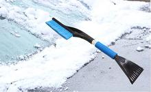 Auto Truck Window Retractable Shovel Removal Brush Shovels Squeegee 2 in 1 Cleaner Tool Car Winter Ice Scraper Snow Brush