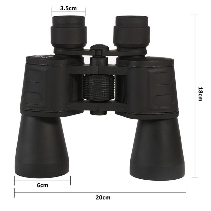 10x50 Night Vision Blue Membrane Telescope Hunting Telescope Central Adjustment Zoom Focus Portable Binoculars Multi-Coated<br><br>Aliexpress