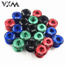 Buy VXM MTB Bicycle Chainwheel Bolts 5Pcs 7075 T6 Aluminum Alloy CNC Road Bike Chainring Screws Shimano Crankset Bicycle Parts for $4.50 in AliExpress store
