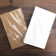 50PC Blank Greeting mini Card Creative Vintage Kraft craft Paper gift Blank Postcards DIY Hand Painted Graffiti Card Message