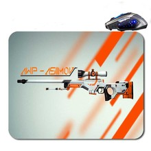 CS GO Gun Custom  Hot Selling Antislip High Definition Printing Gaming Rubber  Mouse Pad Cheap Computer Desk Free Shipping