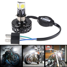 H4 H6 BA20D LED Motorcycle Headlight Bulb Hi/Lo Beam Fog Light Lamp 2000LM Blubs For Harley Yamaha Honda Suzuki Kawasaki Ducati