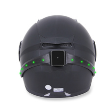 Wireless Motorcycle Smart helmet light LED Safety With Running Lights Brake Lights Turn Signal Indicators CG315(China)
