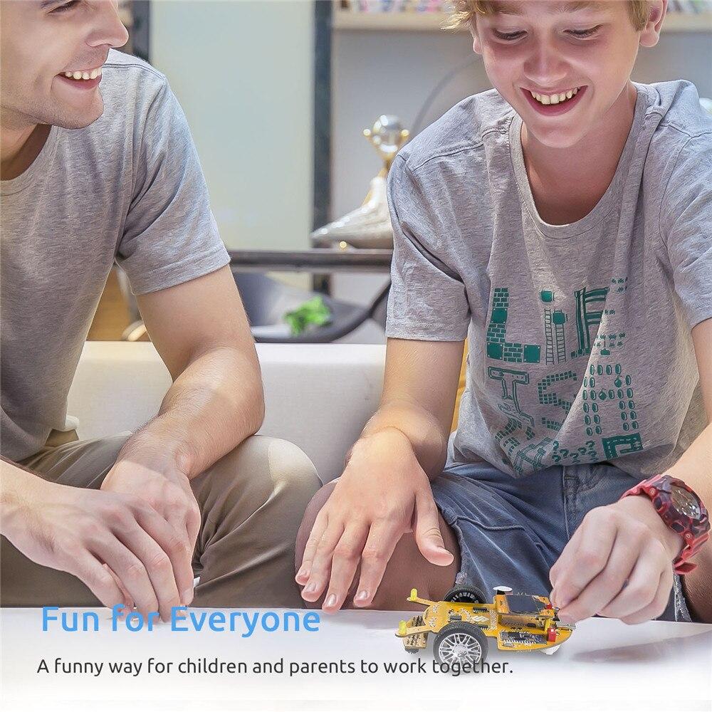 Education Visual ProgrammingSmart Car Learning Kit For Kids Adults (6)