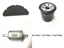 Oil filter + Air filter + Fuel filter / Filter kit for Benelli BN600 TNT600 Stels 600 Keeway RK6 / BN TNT 600 GT(China)