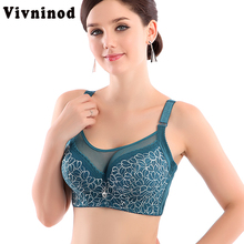 Buy Women Sexy bralette big size lace underwear Push bras 80 85 90 95 100 B C D Intimates Female bh Bra Tops lingerie lace bras