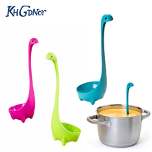 Kitchen Cute Animal Shape Spoons Creative Long Handled Spoon Soup Cooking Drainer Spoon Tableware Tool