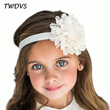 TWDVS  Kids Flower Hair Elastic Bands Newborn Flower Hair Accessories Cute Flower headbands W042